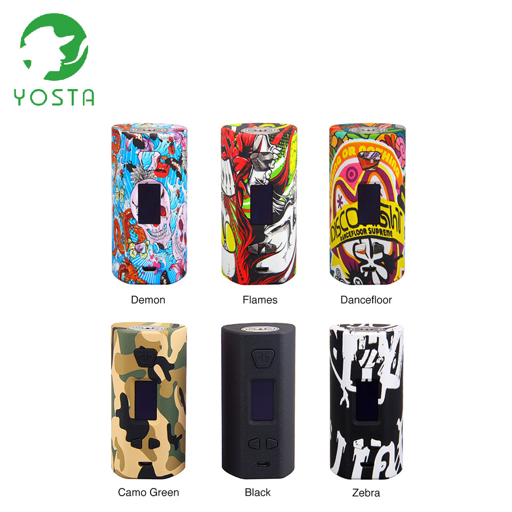 Original Yosta Livepor 200W TC Box MOD max 200W & 6 Different Output Modes No 18650 Battery Vape Box mod VS Storm230 / Thor mod цена в Москве и Питере