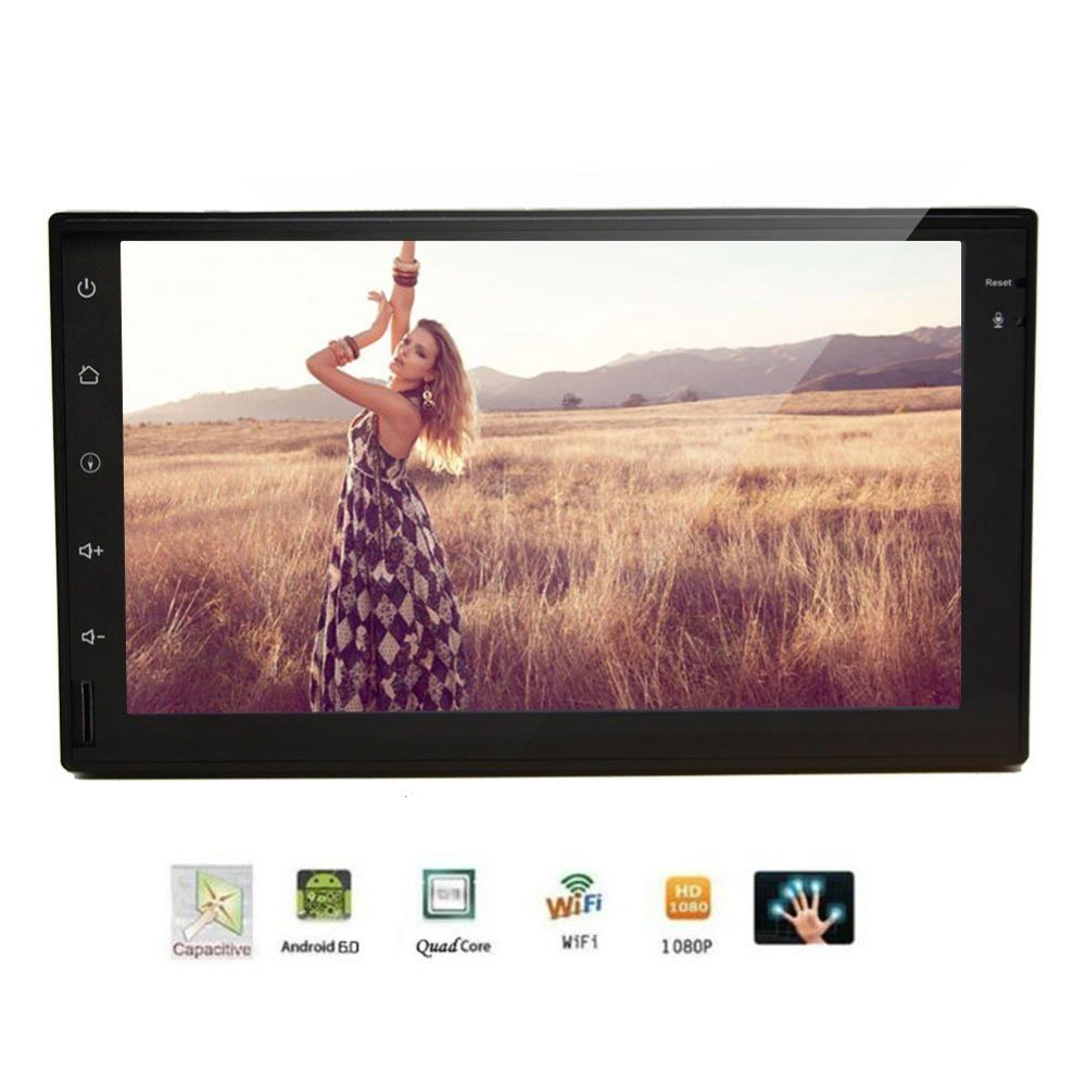 Android 6 0 Car Stereo two 2 Din in Dash GPS Navigation gps font b Radio