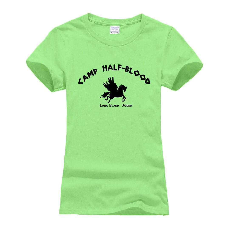 2019 Summer Tshirt Harajuku Brand Camisetas Cool Printing Women's T-shirt Casual Cotton Tee Shirt Femme Camp Half-Blood Slim Top