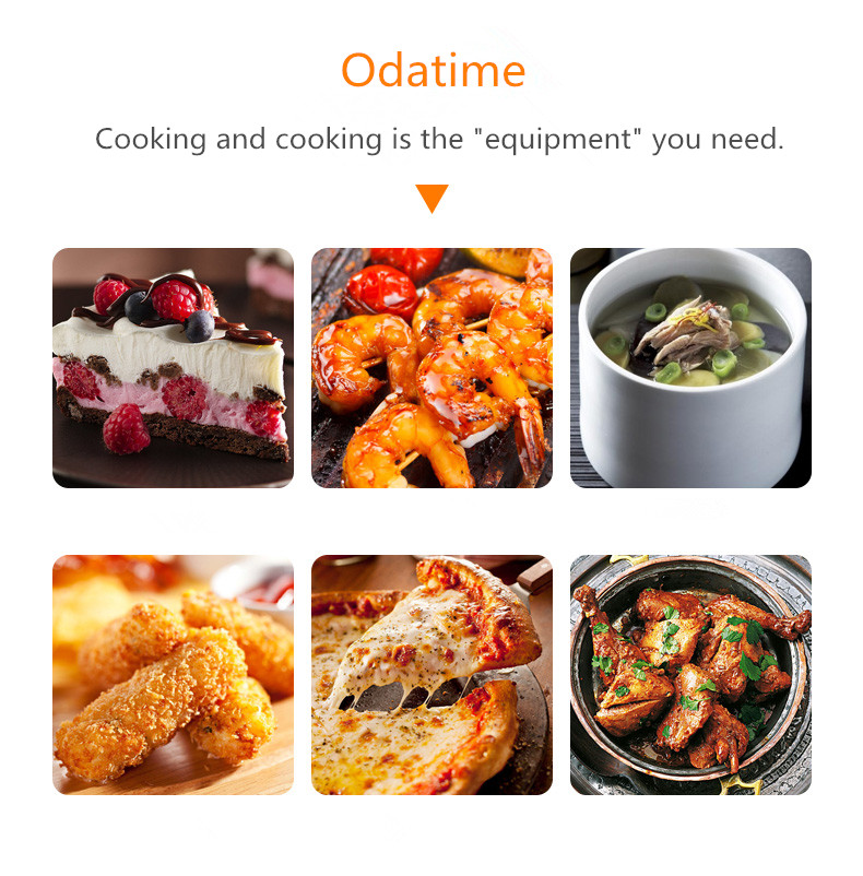 Odatime Food Thermometer made of Stainless Steel with Clamp for Accurate Temperature Measurement in Seconds 5