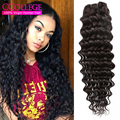 Peruvian Deep Wave Virgin Hair 3 Bundles Grade 8A Unprocessed Virgin Hair Wet And Wavy Queen Beauty Hair Ltd Brazilian Deep Wave