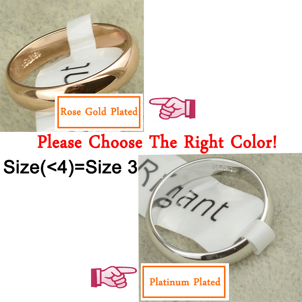 1pcs Ring Italina SIlver Color Girls Accessories 3-12.5 Size Womens Jewellery Wedding Rings for Couple Fashion Gift