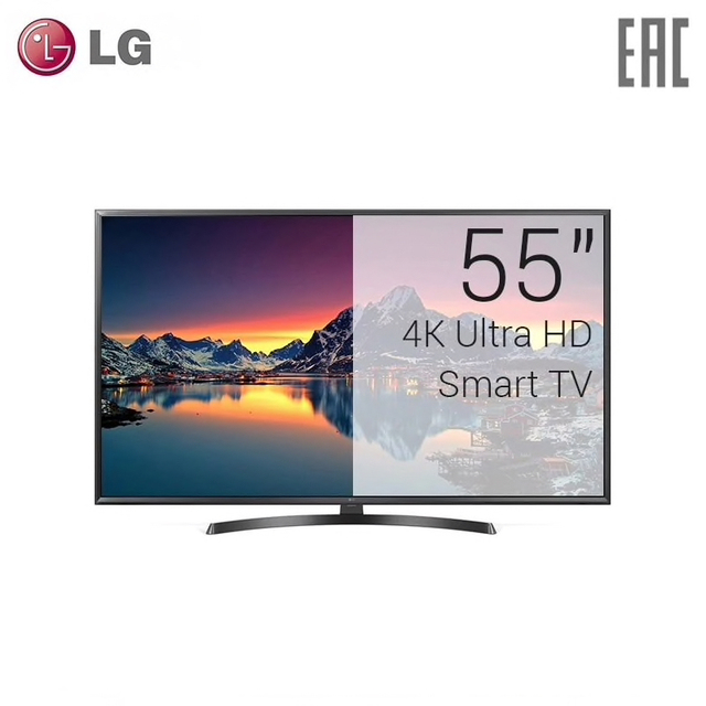 "Телевизор LED LG 55"" 55UK6450 4K Smart TV"