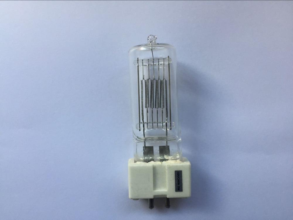 6ピース送料無料石英ランプ新しいディスコライトパーティーcp70 gx9.5 230ボルト1000ワット回転マルチフラッシュインテリアダンスランプ  グループ上の ライト & 照明 からの 舞台照明装置 の中 1