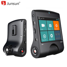 Junsun Cámara Del Coche DVR de Ambarella A7 Full HD 1080 P 30 FPS de Vídeo GPS Logger Registrador de La Visión Nocturna dvr coche Dash Cam