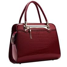 Frauen handtasche frauen tasche damen große tasche handtasche umhängetasche krokoprägung umhängetasche