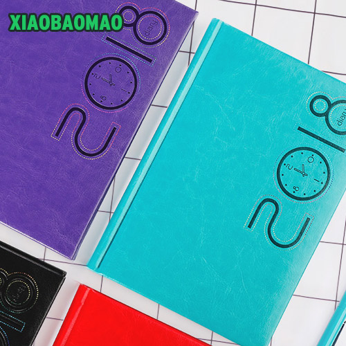 все цены на Thick! 256 pages high quality business style color PU cover Cute Agendas Weekly Monthly Plan Daily Memo онлайн