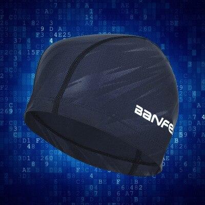 Фото водонепроницаемая тканевая шапка для плавания с защитой ушей цена