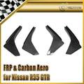 Car-styling Para Nissan R35 GTR de Fibra de Carbono Del Parachoques Delantero de Canard Temprano (Para OEM Parachoques Delantero) En Stock