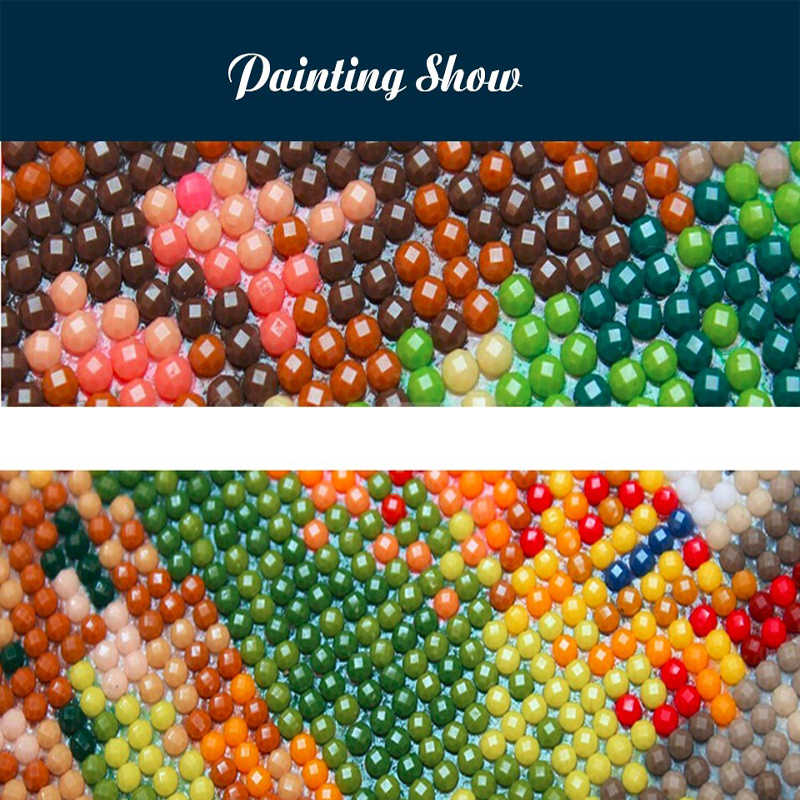 "100% Full 5D Diy Daimond Painting ""London Street View"" 3D Diamond Painting Round Rhinestones Diamant Painting Embroidery Scenery"