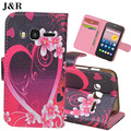 JR Cute Cartoon Leather Case For Alcatel One Touch Pixi 4 4.0 4034D Filp Wallet Case For Alcatel 4034 Stand Cover Phone Bags