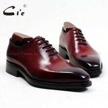 Cie/мужские туфли ручной работы из телячьей кожи с квадратным носком и натуральным лицевым покрытием; goodyear welted; мужские официальные туфли из кожи; ox497