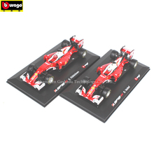Bburago 1:32 Ferrari F1 manufacturer authorized simulation alloy car model crafts decoration collection toy tools