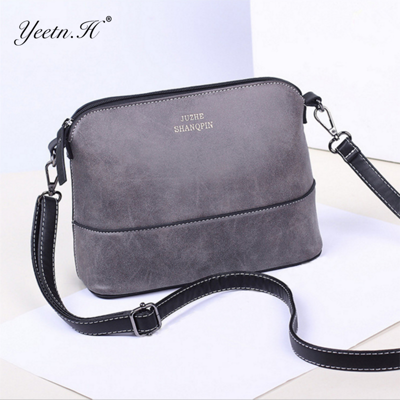 New 2017 autumn fashion preppy style stamp one shoulder bags women leather handbags women messenger bags women handbag