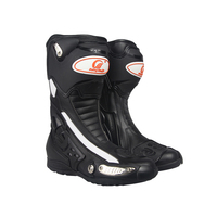 PRO BIKER SPEED BIKERS Motorcycle Breathable Boots Moto Racing Riding Boots Motocross Leather Motorcycle Boots B1002