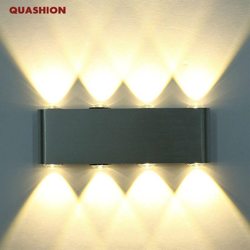 Online Shop Moderne Rechteck Led 8 Watt Wandleuchten Leuchte