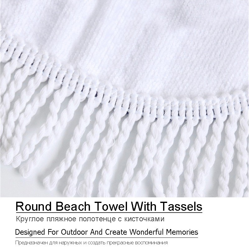 Image 5 - Printed Flower Mandala Large Beach Towels Microfiber Towel Beach Adults Black Geometric Towels Bathroom Blanket Yoga Mat Toallas