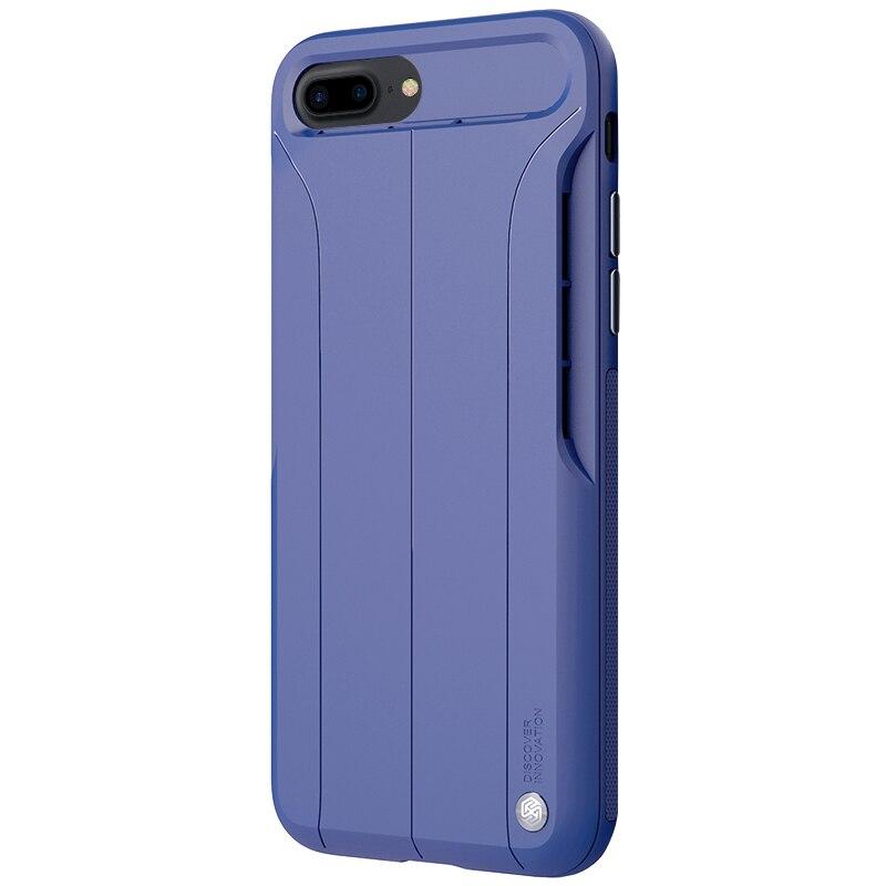 imágenes para Para el iphone 7 Más la caja de 5.5 pulgadas Nillkin Amp altavoz del teléfono función para iphone 7 Plus de Naturaleza TPU con hoja interior cubierta