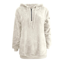 Women Hoodies Sweatshirts Winter Sweatshirts Women's Hooded Sweatshirt Coat Winter Warm Wool Pockets Outwear цены онлайн