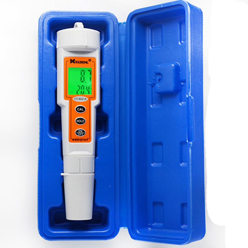 CT-6021A pen type digital ph meter lcd water ph tester meter aquarium ph tester digital meter acidity tester