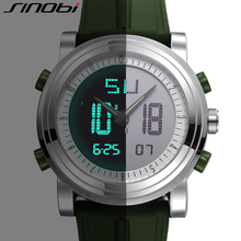 Silicone Strap Sports Digital Watch