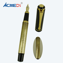 ACMECN New Fountain Pen Classic China Elements Stationery Collection Liquid ink Hand-made Antique Emboss Horse