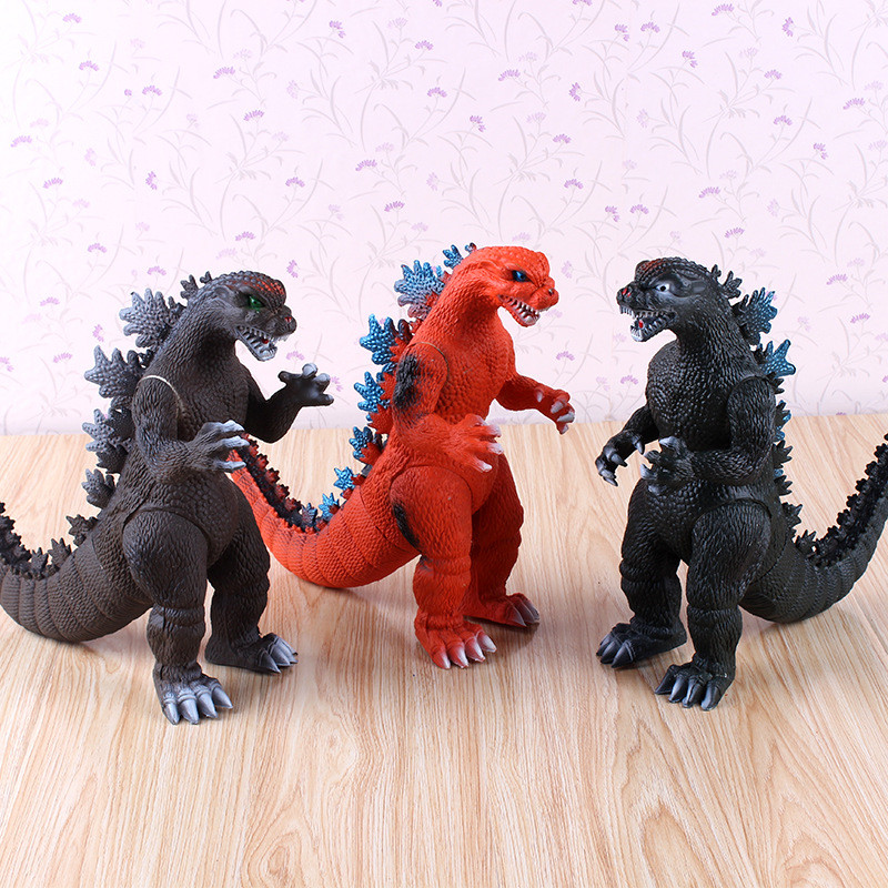Godzilla model dinosaur child action Christmas adult Halloween toy monster doll gifts kingcamp child action 3834