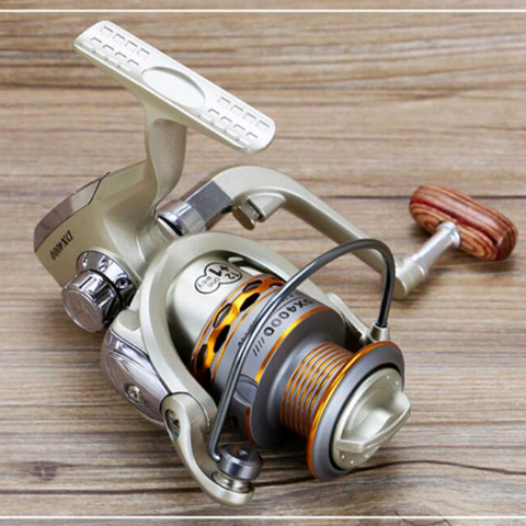 carretel de pesca roda pequena pesca bobina enfrentar