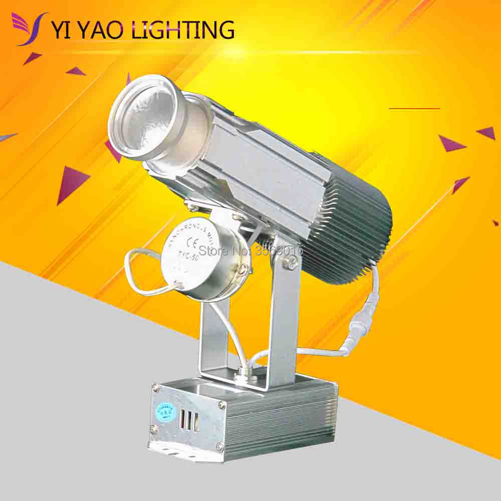 Cheap Outdoor 25W Custom Design Led Gobo Projectors For Advertising DJ Party Event Not Waterproof Logo
