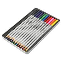 Winsor Watercolor Pens And Brushes Woodless Colour Solid Pencils Artist Colouring Pencil Drawing Sketching Packs Set(China)