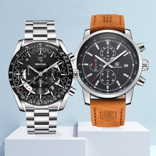 Watch Mens Set BENYAR Watches Mens 2019 Top Brand Luxury Quartz Chronograph Fashion Sports Watch Man Clock Men Relogio Masculino