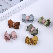 1000 PCS / 1 package Manufacturer direct sales of Korean super fiber bow tie semi-finished  DIY hand hair accessories wholesale