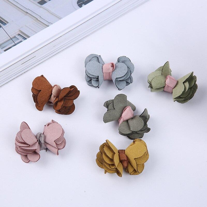 1000 PCS/1 paquet Fabricant ventes directes de Coréenne super fiber arc cravate semi-finis BRICOLAGE main cheveux accessoires en gros