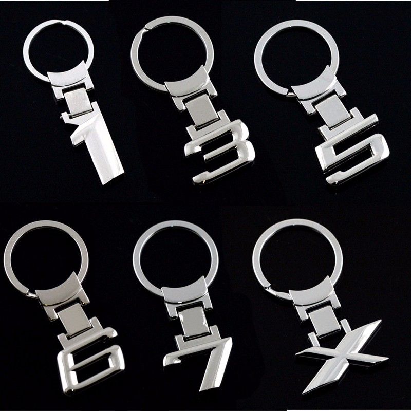 Zinc Alloy Metal Car Keychain Key Chain Key Ring Keyring For BMW E46 E39 E60 E90 E36 F30 F10 E30 F20 E34 1 3 5 Series Key Holder