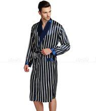Men's Silk Satin Robe 2 Colors