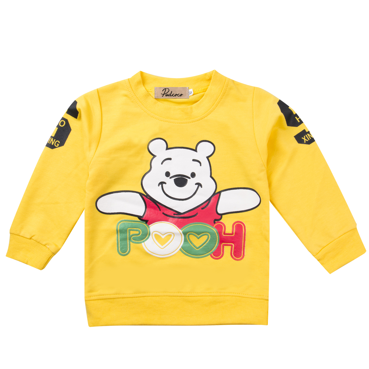Cute 6 9 12 18 24 Months Long Sleeve O-Neck Autumn Clothing T-Shirt Baby Boy Girl Unisex Character Clothes