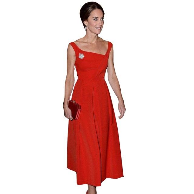 vrouw in jurk
