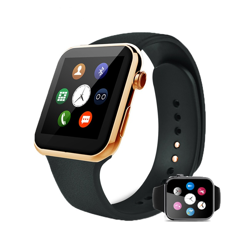 2016 New Smartwatch A9 Bluetooth Smart watch for Apple iPhone & Samsung Android Phone Intelligent clock Smartphone Watch T0