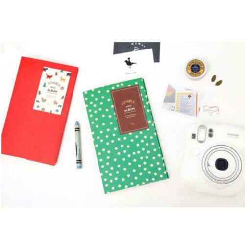 84 ألبوم صور صندوق كتاب صندوق تخزين ل Fujifilm فوجي بولارويد فيلم صغير Instax