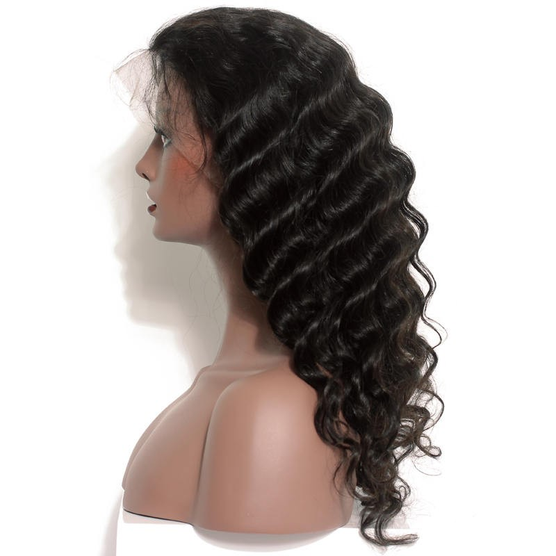 882123327 Loose Wave 360 Lace Frontal Wig Pre Plucked 180% Density Full Lace Wigs 8A  Lace Front Human Hair Wigs 360 Lace Wig-in Human Hair Lace Wigs from Hair  ...