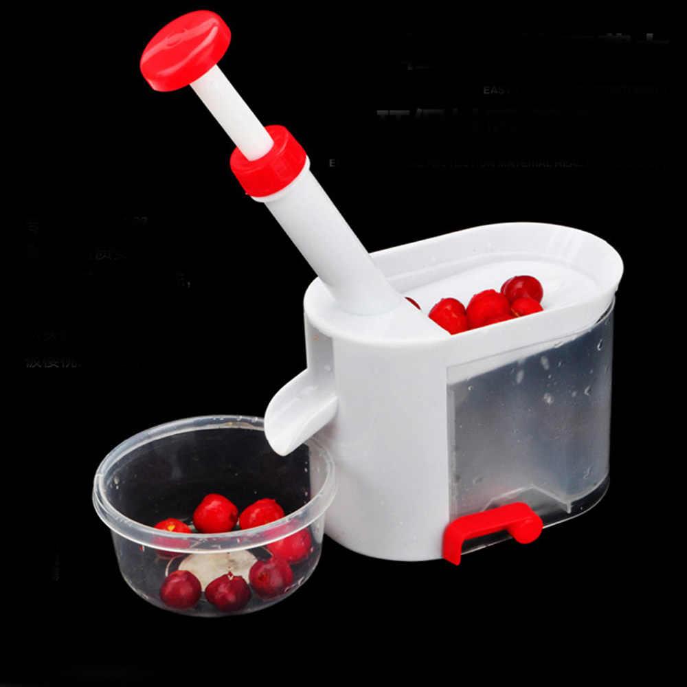 Nouvelle mise à niveau cerise Pitter pierre décapant Machine cerise Corer avec conteneur accessoires de cuisine