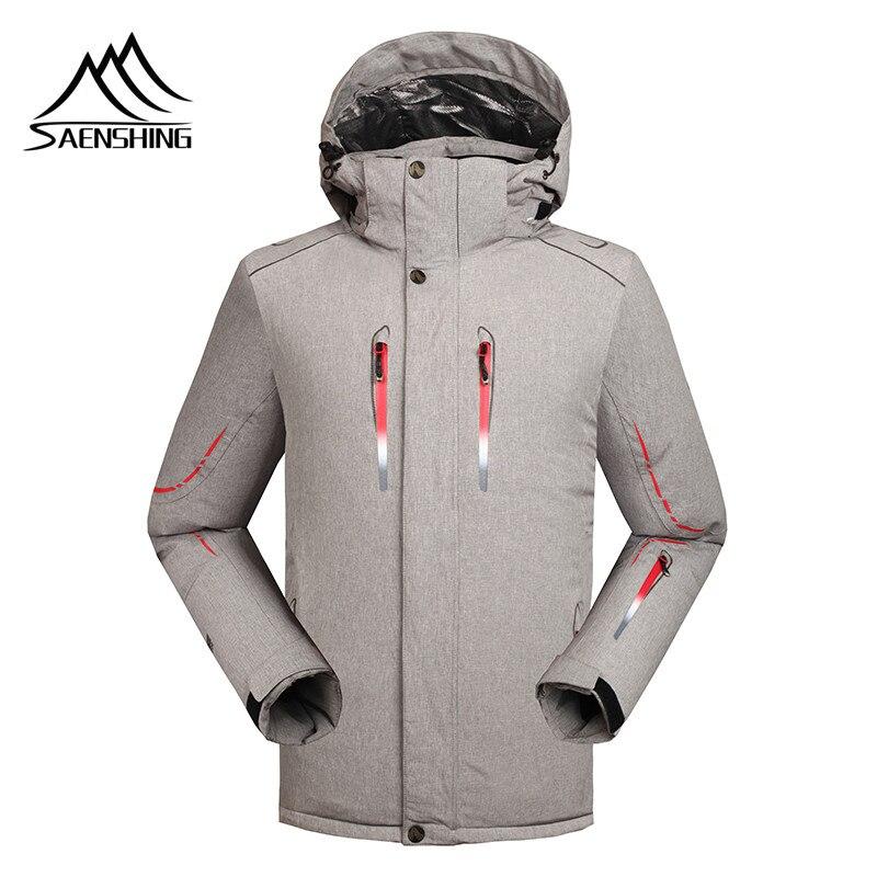 Saenshing -30 Degree warm winter ski jacket men Waterproof 10000 windproof snowboard snow jacket outdoor skiing ski clothing цена
