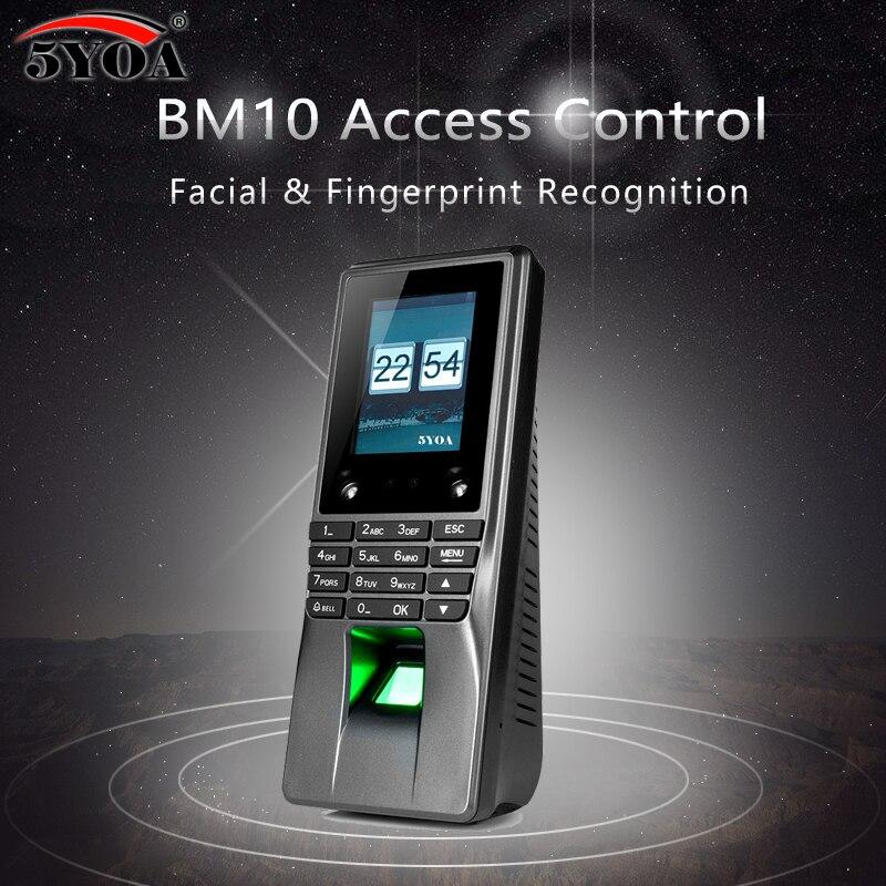 5YOA BM10 Биометрические лица доступа отпечатков пальцев Управление WI FI рабочего времени машины Электрический Сенсор товара Системы замок