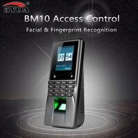 5YOA BM10 биометрическая лицевая отпечаток лица доступа Управление WI FI машина посещаемости времени электрический датчик код Системы дверной з