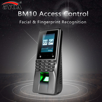 5YOA BM10 Biometric Facial Face Fingerprint Access Control WIFI Time Attendance Machine Electric Sensor Code System Door Lock
