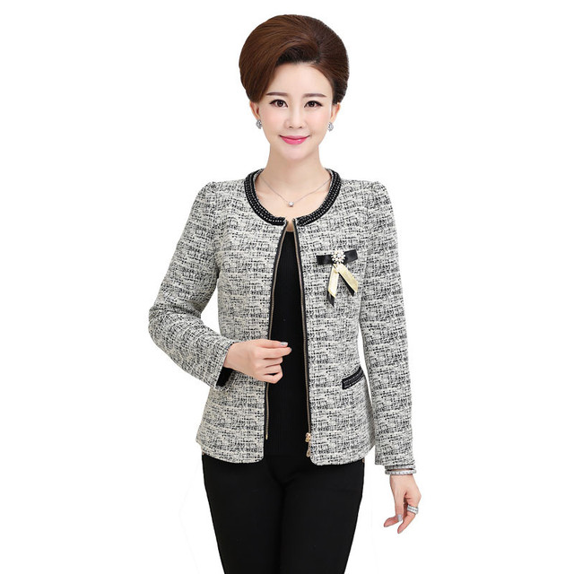 Spring Jacket Short Blazer Feminino Long Sleeve Plus Size Women Clothing Jaqueta Feminina Women Basic Coats Casual Blazers C2956