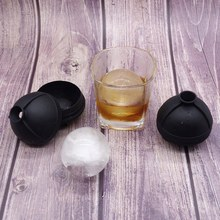 Round Silicone Ice Cube Tray Mold Ball Maker Sphere For Party Bar