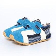 Tipsietoes/сезон весна осень; модная детская повседневная обувь; кожаные кроссовки для девочек и мальчиков на плоской подошве; Бесплатная доставка