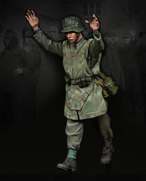 1 35 scale resin model kit resin figure model soldier A3157