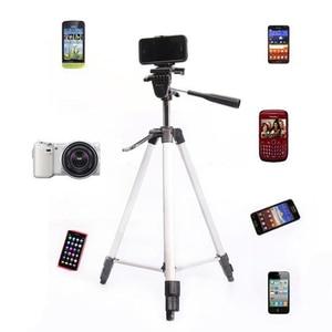 Image 5 - Tripé para câmera e celular, tripé + suporte para iphone 8, 8 plus, ios, android, mini tripé